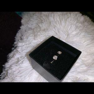 Genuine Dentelle 1/2 ct diamond earrings